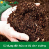 Sử dụng đất hữu cơ đủ dinh dưỡng 1