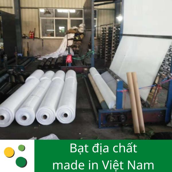 Tại xưởng sản xuất bạt địa chất ở Việt Nam