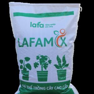 Bao giá thể trồng cây lafamix 20L